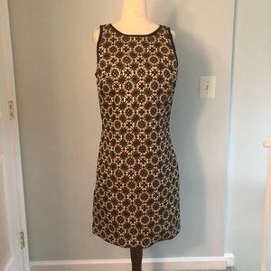 Max Studio gold and black metallic dress Size 4